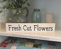 "Fresh Cut Flowers 20""x3.5"""
