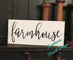 "Farmhouse 12""X5.5"""